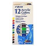 Premium Acrlyfarben Set el Greco 12x12ml Tube Acryl Farben zum Malen