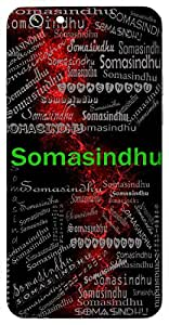 Somasindhu (Lord Vishnu) Name & Sign Printed All over customize & Personalized!! Protective back cover for your Smart Phone : Samsung Galaxy S5mini / G800