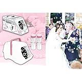 Seifenblasenmaschine batteriebetrieben für Hochzeit
