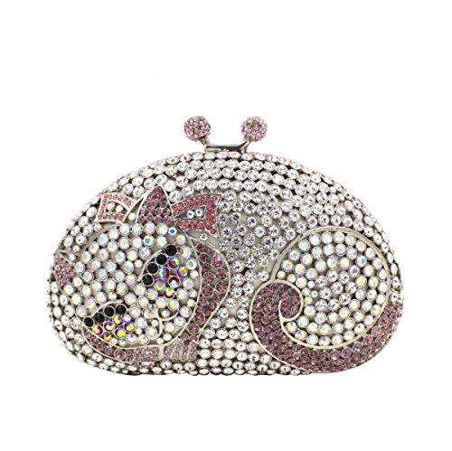 Luxus-Diamant-Abendbeutel Frauen High-End-Bankett-Paket E