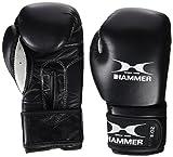 Hammer Boxhandschuhe Premium Fitness, Schwarz, 12 OZ, 94812