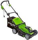 Greenworks Elektrische Rasenmäher, 40cm Schnittbreite, 1200W - 2505207