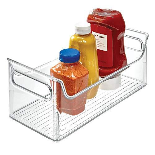 InterDesign 72530EU Kühlschrank-Boxen Tragbarer Gewürz-Caddy, durchsichtig -