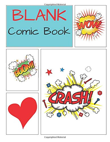 Big Guy Kostüm - Blank comic book: Create Your Own Comics With This Comic Book Journal Notebook: Over 100 Pages Large Big 8.5