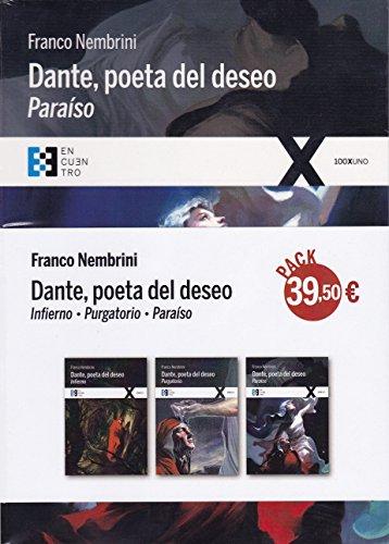 Pack Dante, poeta del deseo. Infierno+Paraíso+Purgatorio ( 3 vols.)