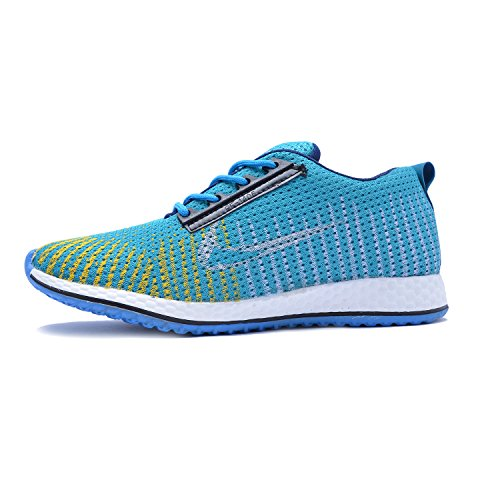 ROADSTAG Canvas Casual Party Wear Sneaker Shoes For Men/Boys | Size 6, SKYBLUE