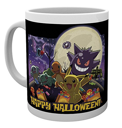 GB Eye Pokemon Happy Halloween Tasse, Mehrfarbig