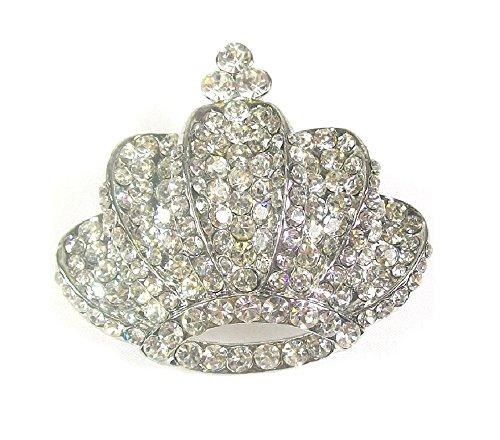 ll mit Brosche Fancy Royal King Queen Krone MAJESTÄT Schmuck (Crown Royal Kostüme)