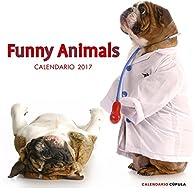 Calendario Funny animals 2017 par  Varios autores