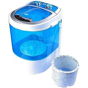 DMR 3 kg Portable Mini Washing Machine with Dryer Basket  (DMR 30-1208, Blue)