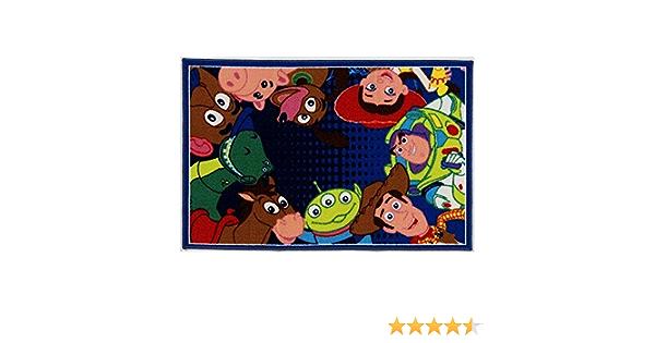 Tapis Toy Story Tapis de Chevet de Chambre /à Coucher cr/éative 80x150cm Tapis danime de Bande dessin/ée de Chambre denfants