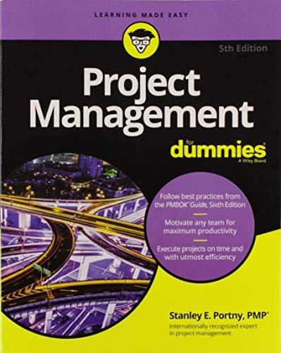 Project Management For Dummies - Dummies Für Management