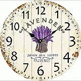 CNMKLM acrilico originale retrò moda orologio creative home decor e orologi da parete grande vintage orologi da parete grande senso #7 - CNMKLM - amazon.it