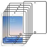 ebestStar - Film protection iPad 9.7 2017, iPad Pro 9.7 2016, iPad Air 2, iPad Air - Lot x5 Film Protection d'écran anti rayures Protecteur Transparent [Dimensions PRECISES de votre appareil : 240 x 169.5 x 7.5 mm, écran 9.7'']