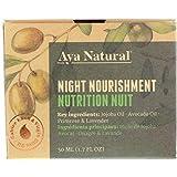 Naturkosmetik Gesichtscreme Vegan Nachtcreme Face Moisturizer - Gesicht Feuchtigkeitscreme Anti Aging Gesichtspflege Faltencreme für trockene Haut