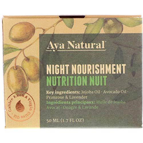 Naturkosmetik Gesichtscreme Vegan Nachtcreme Face Moisturizer - Gesicht Feuchtigkeitscreme Anti...