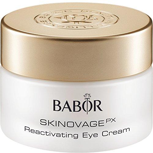 BABOR SENSATIONAL EYES Reactivating Eye Cream gegen Falten, Anti-Aging-Augencreme, Luxus-Feuchtigkeitspflege, für glattere Haut, 15 ml