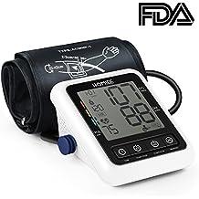 HOMIEE Tensiómetros de Brazo Digital, Detección del Pulso Arrítmico,Validado Clínicamente,Memoria 240