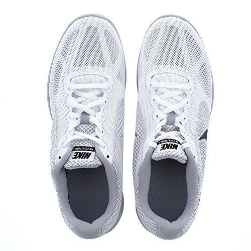 Nike Revolution 3, Scarpe da Corsa Uomo Bianca/nero