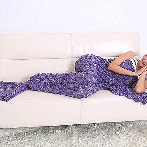 Coda da sirena, da sabbia, quadrifoglio, coperta, coperta per divano a sacco, oggetti domestici Coperta (Divano Borsa)
