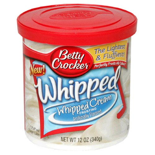 Betty Crocker Aufgeschlagener Zuckerguss – Schlagsahne