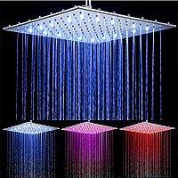 Alcachofa De Ducha LED Con 3 Colores Cabezal De Ducha Led Con Filtro Iónico Y Ducha Alta Presión Ducha Luz Led Con Colores Según Temperatura Del Agua Ideal ...
