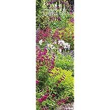 Gärten 2018 - Gartenkalender, Naturkalender 2018, Posterkalender - 34 x 98 cm