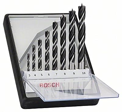 Bosch Pro 8tlg. Robust Line Holzspiralbohrer-Set von Bosch bei Du und dein Garten