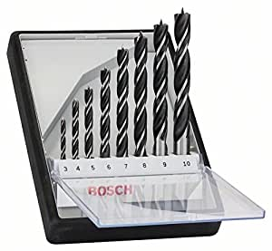 Bosch 2607010533 Brad Point (8-Piece)