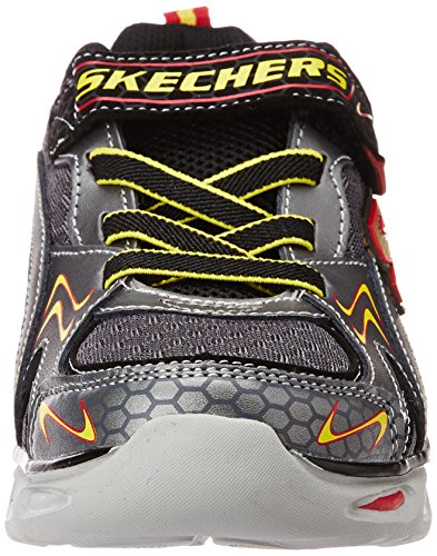 Skechers (SKEES) Ipox - Rayz, baskets sportives garçon gris (GURD)