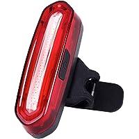 Fahrrad Rücklicht LED Klein,Fahrradbeleuchtung USB Aufladbar mit Batterie,IPX4 Wasserdicht Fahrradlampen,STVZO…