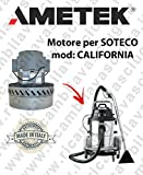 California moteur aspiration Ametek pour aspirateur Soteco