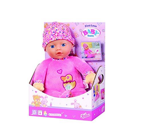 """Zapf Creation 825310"""" Baby Born First Love Puppe, bunt Preisvergleich"""