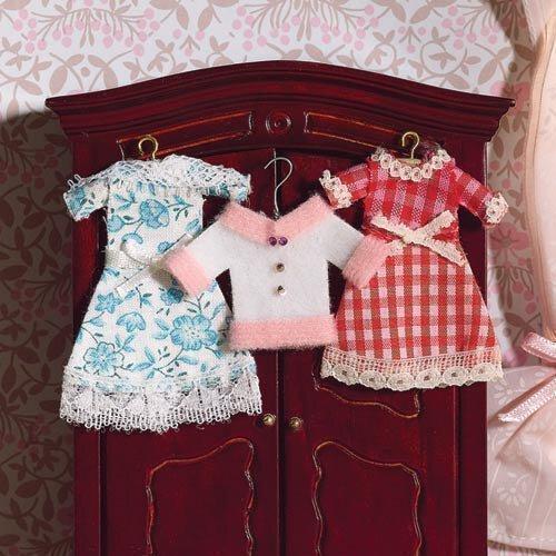 The Dolls House Emporium Mädchenbekleidung, 4-teilig