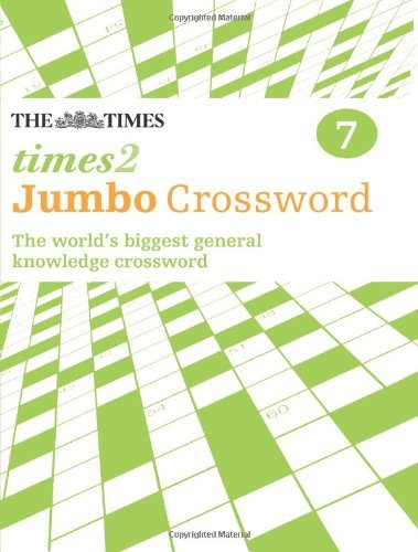 By The Times Mind Games The Times 2 Jumbo Crossword Book 7