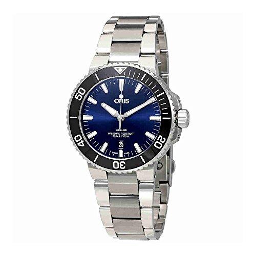 Oris Aquis automatico blu quadrante mens orologio 0173377304135–0782405PEB