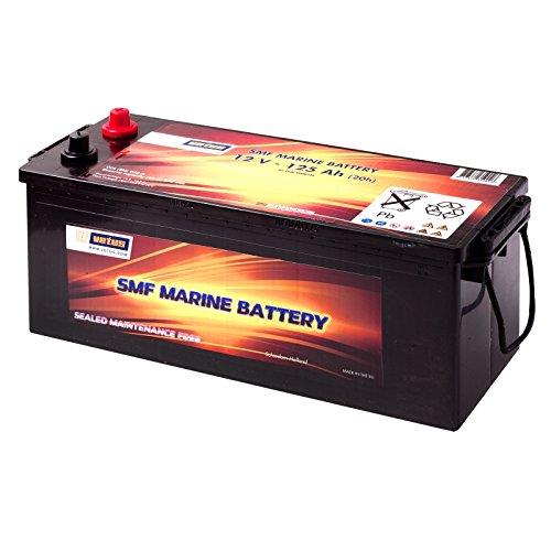 Preisvergleich Produktbild Vetus Marine Batterie 125AH / 12V CCA A (EN) 950