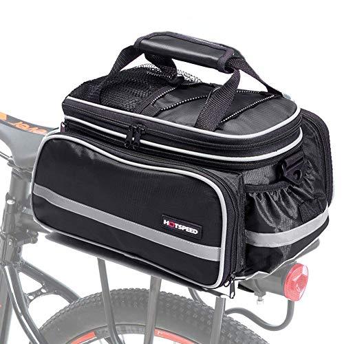Selighting Bolsa Alforja Trasera Bicicleta Bolsa de Equipaje Impermeable 10L-25L
