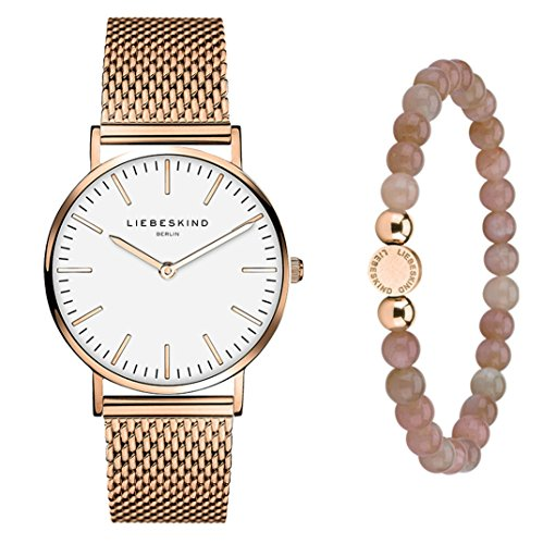 Liebeskind Berlin Set Armbanduhr und Armband LS-0028-MQB
