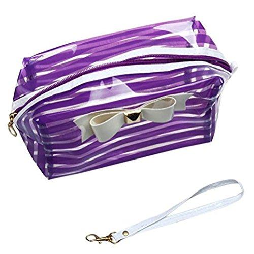 Bodhi2000 ® étanche Maquillage Cosmétique Sac pochette de rangement Sac à main Trousse