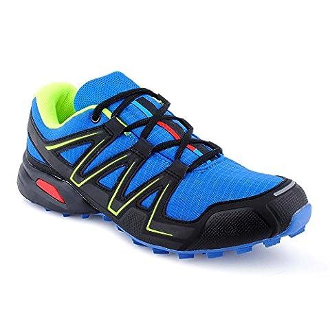 Herren Damen Sneaker Sportschuhe Neon Schnür Lauf Freizeit Fitness Runner