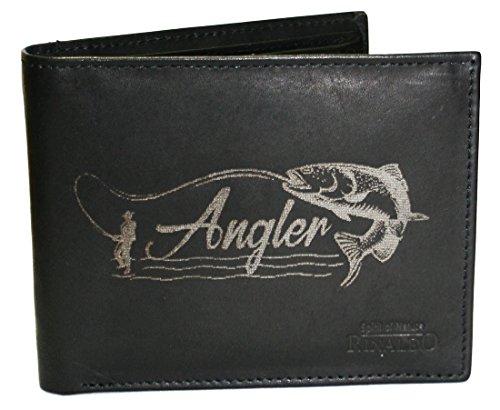 Wotan Textil Angler - Herrengeldbörse Rindleder