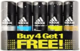 Adidas Deodorant for Men, 150 ml, Buy 4 ...