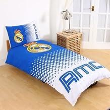 Real Madrid CF con juego de funda de edredón–oficial de fútbol Ropa de cama