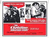 The Christine Jorgenson Story Plakat Movie Poster (22 x 28 Inches - 56cm x 72cm) (1970) Half Sheet