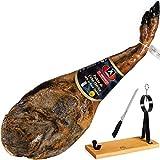 Paleta de Jamon Iberico de Cebo Mafresa 4,5 - 5 Kg + Soporte Jamonero Pecellín + Cuchillo de Corte