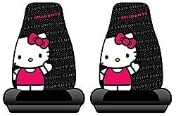 Hello Kitty Sanrio Waving Car Truck SUV Bucket Seat Covers - Pair