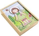 Haba 301060 - Holzpuzzle Lillis Lieblingskleider