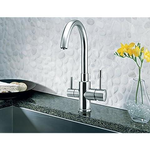3vie rubinetto adatto Palmira inox Amway eSpring acqua filtri.