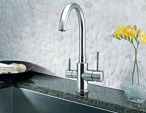 Grifo de 3Vías Palmira inox para AMWAY eSpring filtro de agua Adecuado. Grifo de cocina, Grifo, Grifo, Grifo (3Vías, agua para Ósmosis Instalaciones Instalaciones De Agua Potable